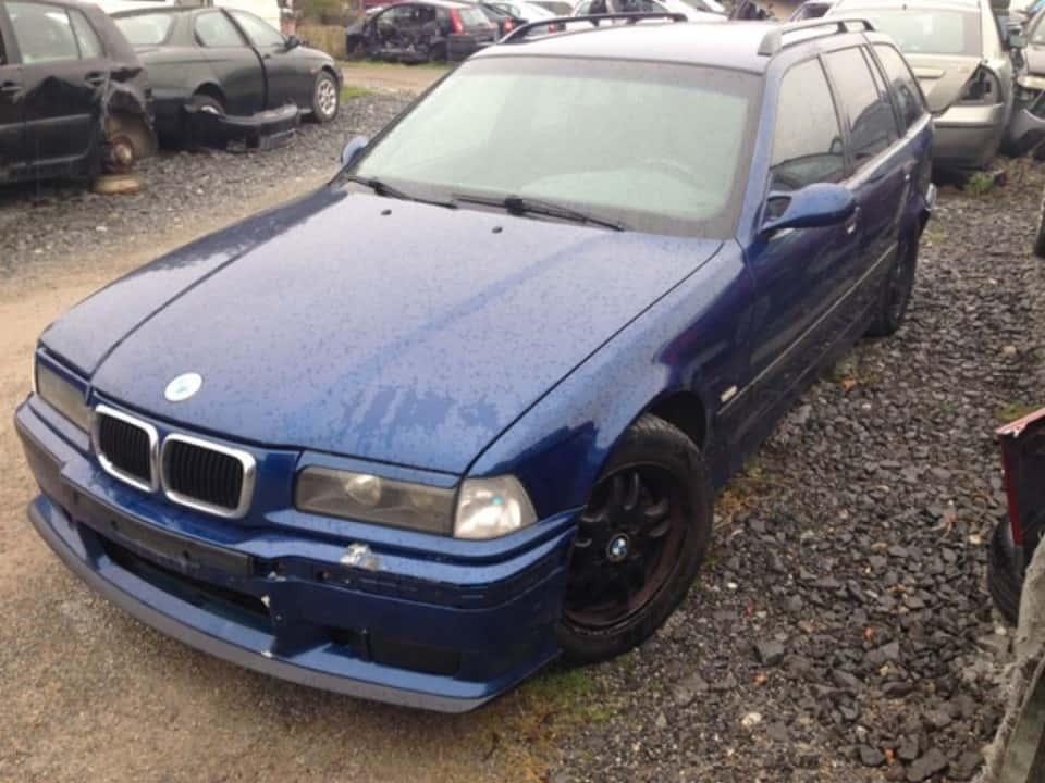 BMW Řada 3 1.6i 75kW - díly - pojízdný