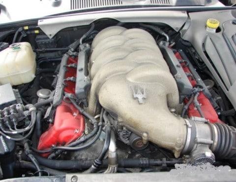 Maserati Coupe 4200 cambiocorsa