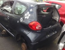 Toyota Aygo 1.0i pouze dily