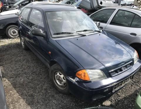 Subaru Justy 1998 4x4 - dily z vozu
